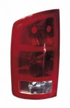 2002 - 2006 Dodge Ram Rear Tail Light Assembly Replacement / Lens / Cover - Left (Driver)