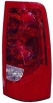 2003 GMC Sierra Tail Light Rear Lamp - Right (Passenger)
