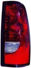 2004 - 2007 Chevrolet Chevy Silverado Tail Light Rear Lamp (1500/2500 / Fleetside) - Right (Passenger)