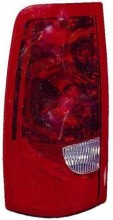 2003 GMC Sierra Tail Light Rear Lamp - Left (Driver)