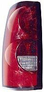 2004-2007 Chevrolet Chevy Silverado  Tail Light Rear Lamp (3500 / Fleetside / with Single Rear Wheels) - Left (Driver)