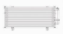 2006 - 2012 Mitsubishi Eclipse A/C (AC) Condenser