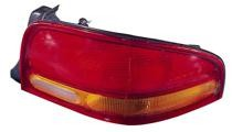 1995 - 2000 Dodge Stratus Rear Tail Light Assembly Replacement / Lens / Cover - Left (Driver)