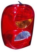2002 - 2004 Jeep Liberty Rear Tail Light Assembly Replacement / Lens / Cover - Left (Driver)