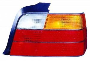 1992-1999 BMW 318i Tail Light Rear Brake Lamp (Sedan / E36) - Right (Passenger)