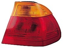 2001 BMW 325i Rear Tail Light Assembly Replacement (Sedan + with Red Lens) - Right (Passenger)