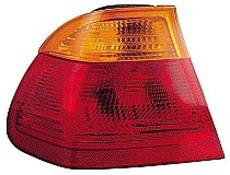 2001 BMW 325i Tail Light Rear Lamp (Sedan / with Red Lens) - Left (Driver)