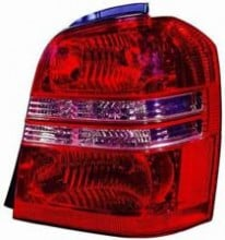 2001 - 2003 Toyota Highlander Rear Tail Light Assembly Replacement / Lens / Cover - Right (Passenger)