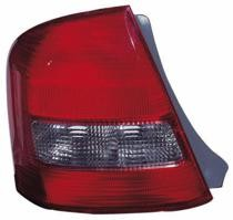1999 - 2003 Mazda Protege Tail Light Rear Lamp - Left (Driver)