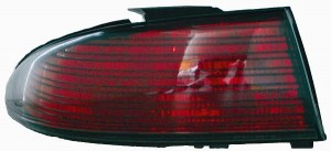 1995-1997 Dodge Intrepid Tail Light Rear Brake Lamp - Left (Driver)