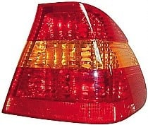 2002 - 2005 BMW 325i Rear Tail Light Assembly Replacement / Lens / Cover - Right (Passenger)