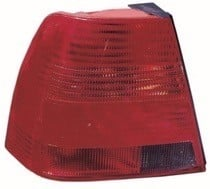 1999 - 2003 Volkswagen Jetta Rear Tail Light Assembly Replacement / Lens / Cover - Left (Driver)