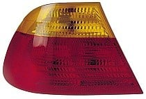 2001 - 2003 BMW 325i Tail Light Rear Lamp (Coupe / E46 / Outer / with Amber Lens / to 3/03) - Left (Driver)