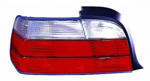 1998-1999 BMW 323i Tail Light Rear Lamp - Left (Driver)