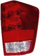 2004-2011 Nissan Titan Pickup Tail Light Rear Brake Lamp (with Utility Compartment) - Right (Passenger)