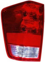 2004 - 2015 Nissan Titan Pickup Tail Light Rear Lamp (with Utility Compartment) - Left (Driver)