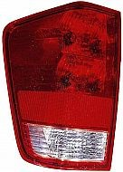 2004-2011 Nissan Titan Pickup Tail Light Rear Brake Lamp (with Utility Compartment) - Left (Driver)