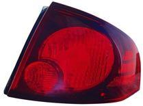 2004 - 2006 Nissan Sentra Tail Light Rear Lamp (SE-R/SE-R Spec V + Quarter Panel Mounted) - Right (Passenger)
