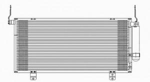 2004-2008 Mitsubishi Galant A/C (AC) Condenser