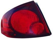 2004 - 2006 Nissan Sentra Tail Light Rear Lamp (SE-R/SE-R Spec V + Quarter Panel Mounted) - Left (Driver)