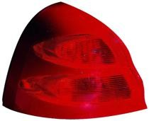 2004 - 2008 Pontiac Grand Prix Tail Light Rear Lamp - Left (Driver)