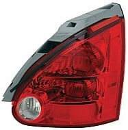 2004 - 2008 Nissan Maxima Tail Light Rear Lamp - Right (Passenger)