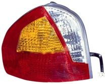 2001 - 2004 Hyundai Santa Fe Tail Light Rear Lamp - Left (Driver)