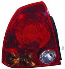 2003 - 2006 Hyundai Accent Tail Light Rear Lamp - Left (Driver)