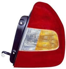 2000 - 2002 Hyundai Accent Rear Tail Light Assembly Replacement / Lens / Cover - Right (Passenger)