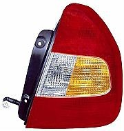 2000-2002 Hyundai Accent Tail Light Rear Brake Lamp - Right (Passenger)