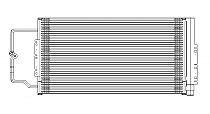2005 - 2015 Pontiac Grand Prix A/C (AC) Condenser