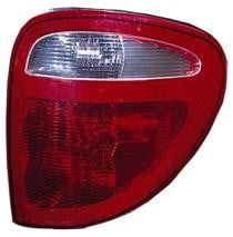 2004 - 2007 Dodge Caravan Rear Tail Light Assembly Replacement / Lens / Cover - Right (Passenger)
