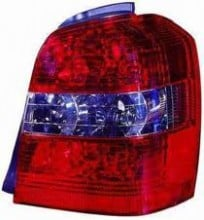 2004 - 2007 Toyota Highlander Rear Tail Light Assembly Replacement / Lens / Cover - Right (Passenger)