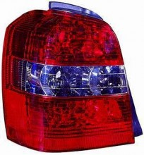 2004-2007 Toyota Highlander Tail Light Rear Lamp - Left (Driver)