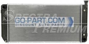1999-2000 Cadillac Escalade EXT Radiator (5.7L V8 / Without EOC)