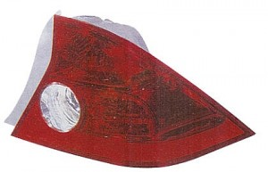 2004-2005 Honda Civic Tail Light Rear Lamp (Coupe / Quarter Panel Mounted / without Bulbs or Sockets) - Right (Passenger)