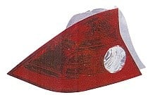 2004 - 2005 Honda Civic Tail Light Rear Lamp (Coupe + Quarter Panel Mounted + without Bulbs or Sockets) - Left (Driver)