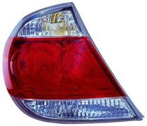 2005 - 2006 Toyota Camry Tail Light Rear Lamp (USA + LE/XLE Model) - Left (Driver)