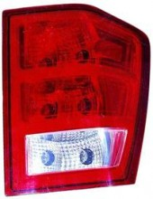 2005 - 2006 Jeep Grand Cherokee Rear Tail Light Assembly Replacement (Grand Cherokee + without Bulbs or Sockets) - Right (Passenger)