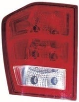 2005 - 2006 Jeep Grand Cherokee Tail Light Rear Lamp (Grand Cherokee / without Bulbs or Sockets) - Left (Driver)