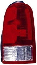 2005 - 2009 Saturn Relay Van Rear Tail Light Assembly Replacement / Lens / Cover - Left (Driver)