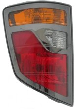 2006-2008 Honda Ridgeline Tail Light Rear Lamp - Left (Driver)