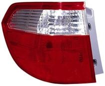 2005 - 2007 Honda Odyssey Rear Tail Light Assembly Replacement / Lens / Cover - Left (Driver)