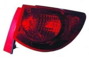 2009-2011 Chevrolet (Chevy) Traverse Tail Light Rear Lamp - Right (Passenger)