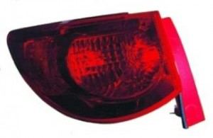 2009-2011 Chevrolet (Chevy) Traverse Tail Light Rear Lamp - Left (Driver)