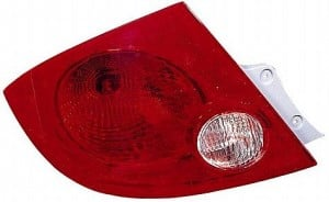 2005-2010 Chevrolet Chevy Cobalt Tail Light Rear Brake Lamp (Sedan) - Left (Driver)