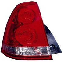 2004 - 2007 Chevrolet (Chevy) Malibu Maxx Rear Tail Light Assembly Replacement / Lens / Cover - Left (Driver)