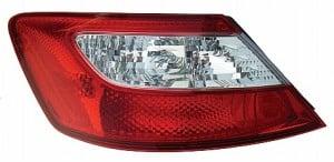 2006-2008 Honda Civic Tail Light Rear Lamp (Coupe) - Left (Driver)