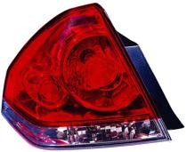 2006 - 2013 Chevrolet (Chevy) Impala Tail Light Rear Lamp - Left (Driver)
