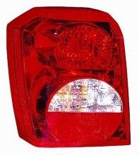 2007-2007 Dodge Caliber Tail Light Rear Lamp - Left (Driver)
